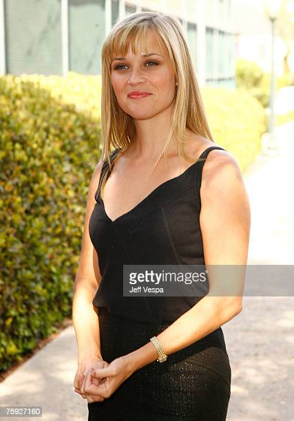 Actress Reese Witherspoon as the First-Ever AVON Global Ambassador during AVON Walk for Breat Cancer on August 1, 2007 at Roxbury Park in Beverly...