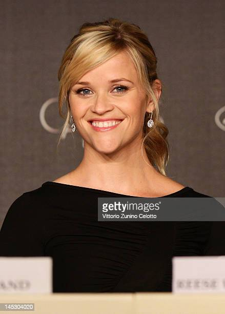 Actress Reese Witherspoon at the 'Mud' press conference during the 65th Annual Cannes Film Festival at Palais des Festivals on May 26 2012 in Cannes...