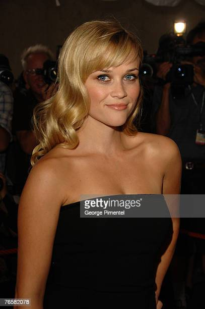 Actress Reese Witherspoon at the The 32nd Annual Toronto International Film Festival Rendition Premiere at Roy Thompson Hall on September 7 2007 in...