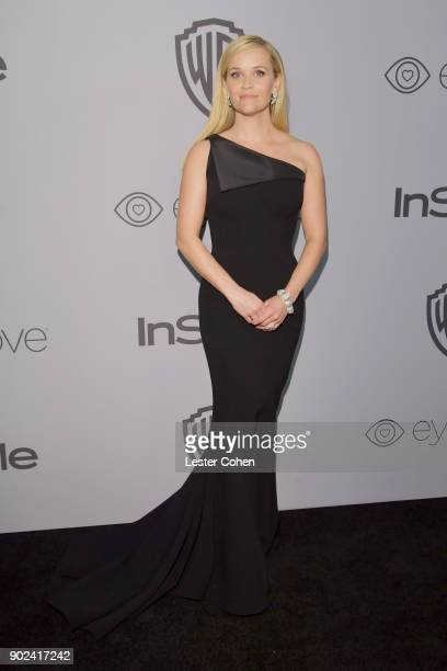 Actress Reese Witherspoon attends 19th Annual PostGolden Globes Party hosted by Warner Bros Pictures and InStyle at The Beverly Hilton Hotel on...