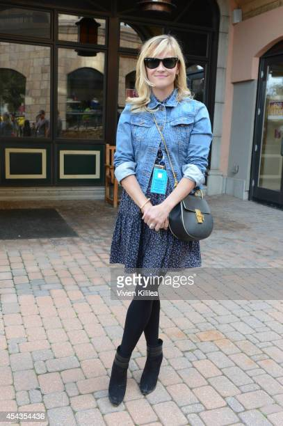 Actress Reese Witherspoon attends a screening of Wild at the 2014 Telluride Film Festival Day 1 on August 29 2014 in Telluride Colorado