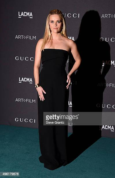 Actress Reese Witherspoon attends LACMA 2015 ArtFilm Gala Honoring James Turrell and Alejandro G Iñárritu Presented by Gucci at LACMA on November 7...