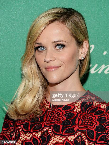 Actress Reese Witherspoon attends the 2014 Variety Power of Women presented by Lifetime at Beverly Wilshire Four Seasons on October 10 2014 in Los...