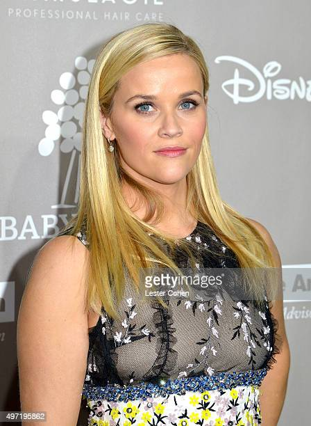 Actress Reese Witherspoon attends the 2015 Baby2Baby Gala at 3LABS on November 14 2015 in Culver City California