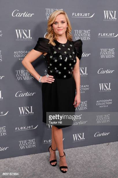 Actress Reese Witherspoon attends the 2017 WSJ Magazine Innovator Awards at the Museum of Modern Art on November 1 2017 in New York City