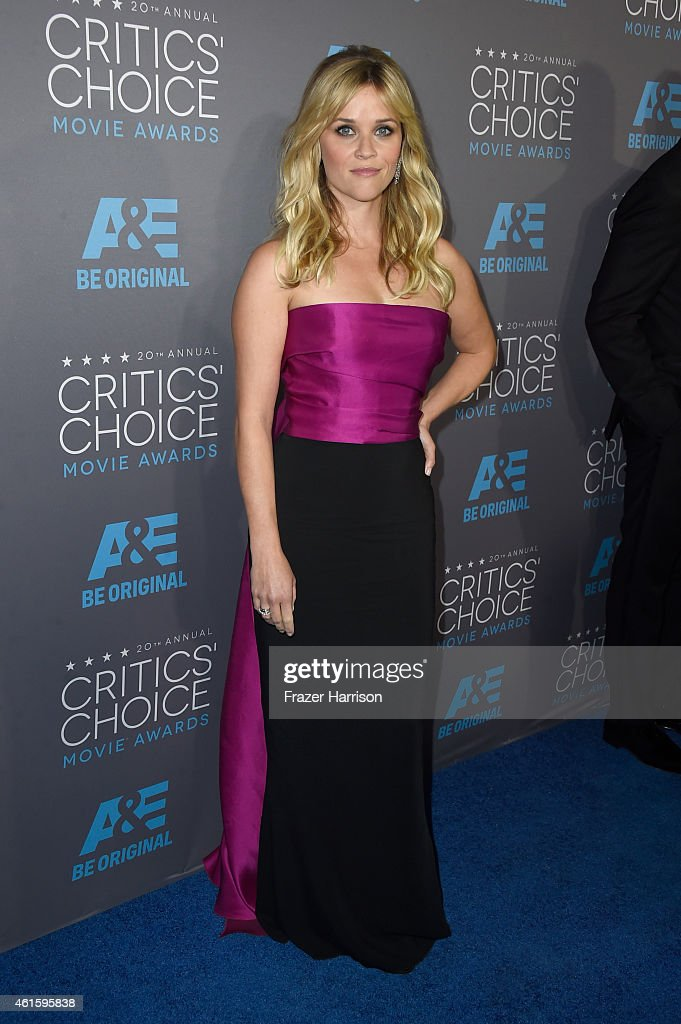 Actress Reese Witherspoon attends the 20th annual Critics' Choice Movie Awards at the Hollywood Palladium on January 15, 2015 in Los Angeles, California.