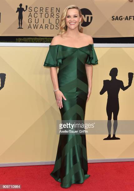 Actress Reese Witherspoon attends the 24th Annual Screen Actors Guild Awards at The Shrine Auditorium on January 21 2018 in Los Angeles California