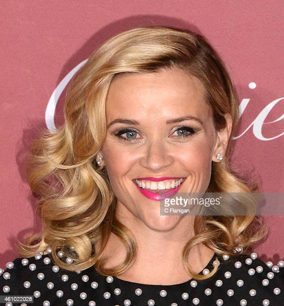 Actress Reese Witherspoon attends the 26th Annual Palm Springs International Film Festival Awards Gala at Palm Springs Convention Center on January 3...