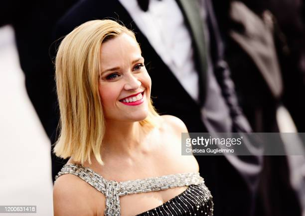 Actress Reese Witherspoon attends the 26th annual Screen ActorsGuild Awards at The Shrine Auditorium on January 19, 2020 in Los Angeles, California.