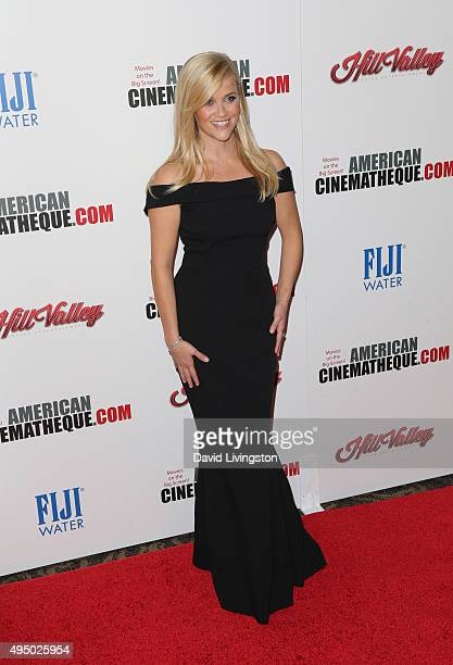 Actress Reese Witherspoon attends the 29th American Cinematheque Award Honoring Reese Witherspoon - Arrivals at the Hyatt Regency Century Plaza on...