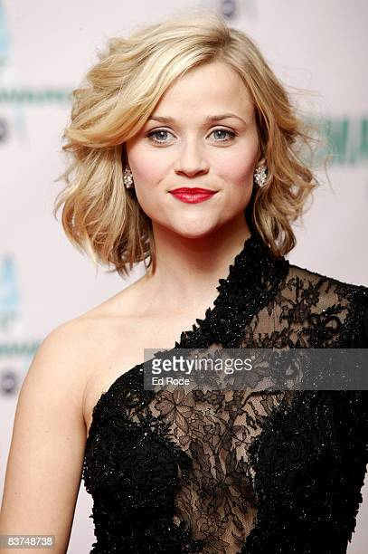 Actress Reese Witherspoon attends the 42nd Annual CMA Awards at the Sommet Center on November 12 2008 in Nashville Tennessee