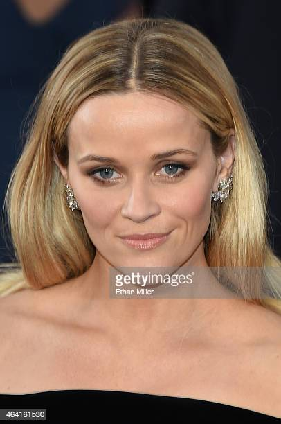 Actress Reese Witherspoon attends the 87th Annual Academy Awards at Hollywood Highland Center on February 22 2015 in Hollywood California