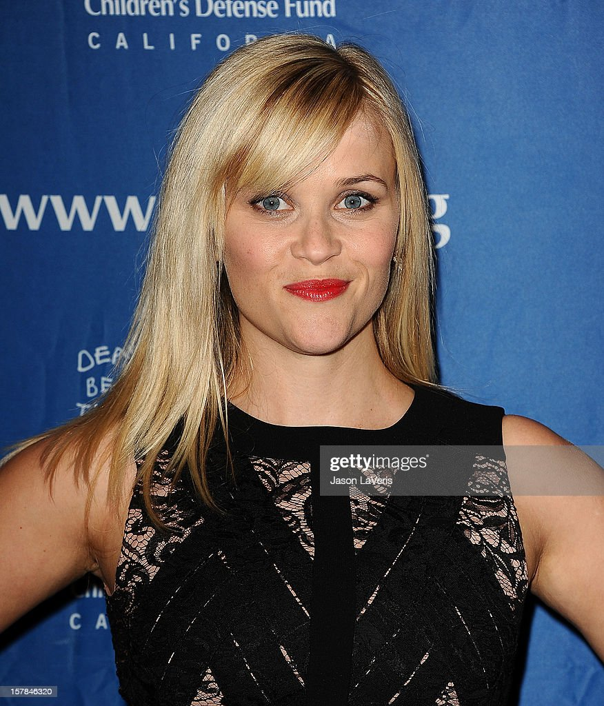 Actress Reese Witherspoon attends the Children's Defense Fund's 22nd annual 'Beat the Odds' Awards at the Beverly Hills Hotel on December 6, 2012 in Beverly Hills, California.