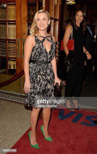 Actress Reese Witherspoon attends 'The Devil's Knot' premiere during the 2013 Toronto International Film Festival at The Elgin on September 8 2013 in...