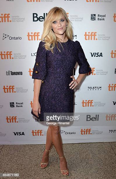 Actress Reese Witherspoon attends The Good Lie premiere during the 2014 Toronto International Film Festival at The Elgin on September 7 2014 in...
