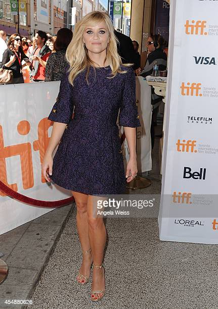 Actress Reese Witherspoon attends 'The Good Lie' premiere during the 2014 Toronto International Film Festival at The Elgin on September 7 2014 in...