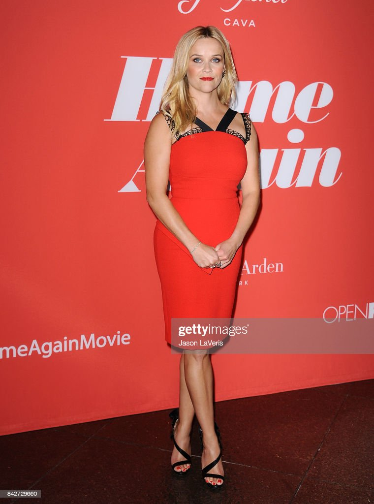 Actress Reese Witherspoon attends the premiere of 'Home Again' at Directors Guild of America on August 29, 2017 in Los Angeles, California.