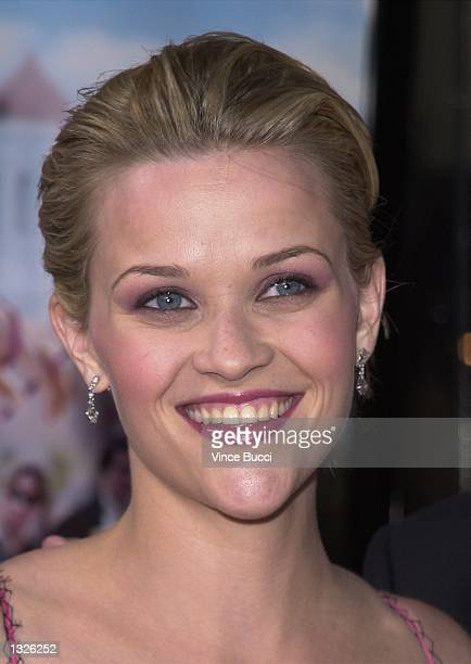 "Actress Reese Witherspoon attends the premiere of MGM Pictures'' ""Legally Blonde"" June 26, 2001 in Los Angeles, CA."