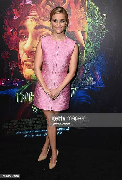 Actress Reese Witherspoon attends the premiere of Warner Bros Pictures' 'Inherent Vice' at TCL Chinese Theatre on December 10 2014 in Hollywood...