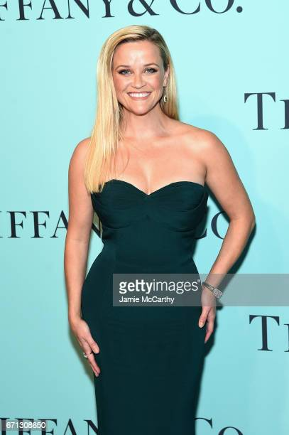 Actress Reese Witherspoon attends the Tiffany Co 2017 Blue Book Collection Gala at ST Ann's Warehouse on April 21 2017 in New York City