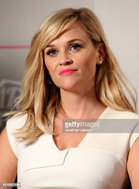 Actress Reese Witherspoon attends the Variety Studio presented by Moroccanoil at Holt Renfrew during the 2014 Toronto International Film Festival on...