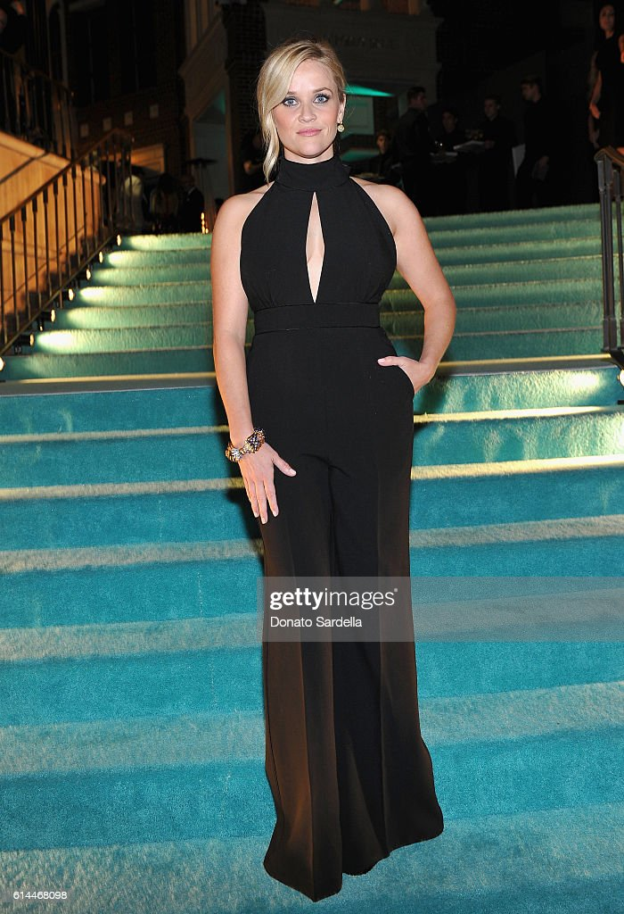 Actress Reese Witherspoon attends Tiffany & Co.'s unveiling of the newly renovated Beverly Hills store and debut of 2016 Tiffany masterpieces at Tiffany & Co. on October 13, 2016 in Beverly Hills, California.