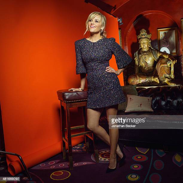 Actress Reese Witherspoon is photographed at the Charles Finch and Chanel's PreBAFTA on February 7 2015 in London England