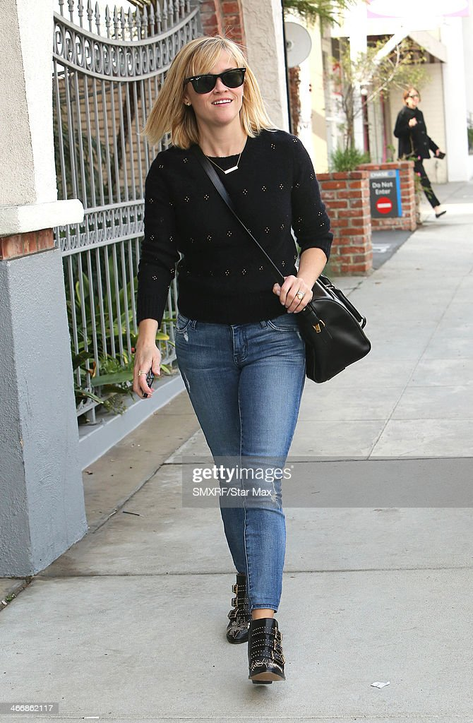 Actress Reese Witherspoon is seen on February 4, 2014 in Los Angeles, California.