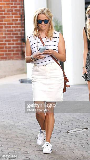 Actress Reese Witherspoon is seen on July 29 2015 in Los Angeles California