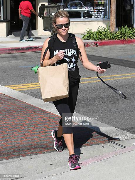 Actress Reese Witherspoon is seen on September 20 2016 in Los Angeles California