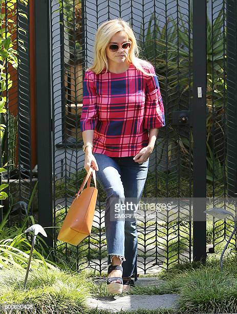 Actress Reese Witherspoon is seen on September 8 2016 in Los Angeles California