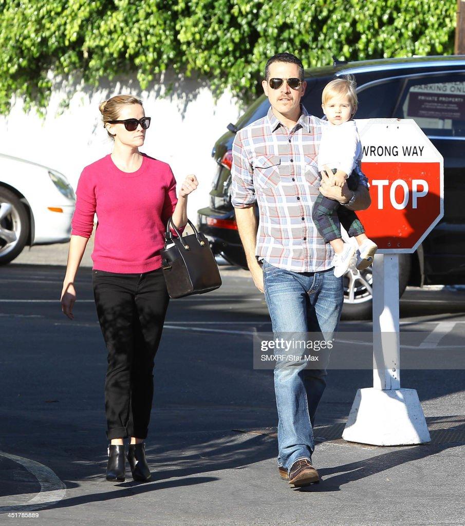 Celebrity Sightings In Los Angeles - November 24, 2013