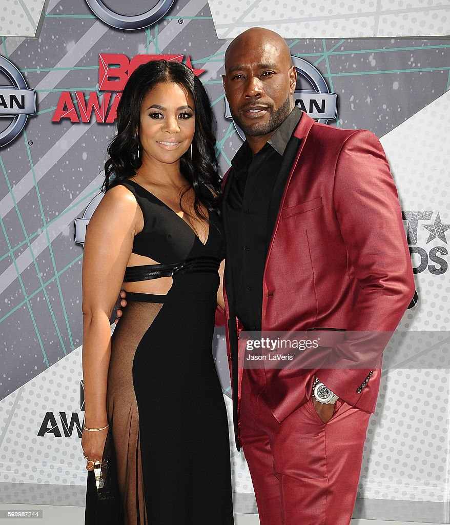 Actress Regina Hall and actor Morris Chestnut attend the 2016 BET Awards at Microsoft Theater on June 26, 2016 in Los Angeles, California.