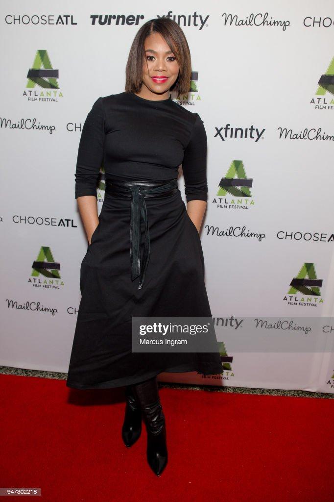 Actress Regina Hall attends the 42nd Annual Atlanta Film Festival 'Prison Logic' screening at Plaza Theater on April 16, 2018 in Atlanta, Georgia.