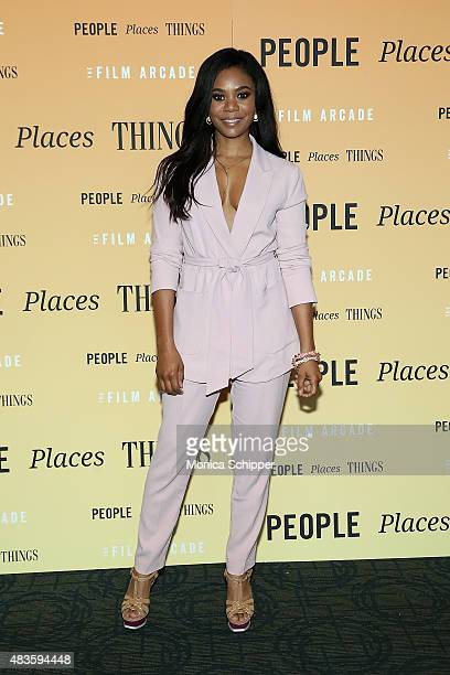 Actress Regina Hall attends the 'People Places Things' New York premiere at Sunshine Landmark on August 10 2015 in New York City