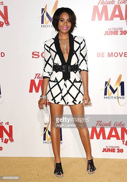 Actress Regina Hall attends the premiere of 'Think Like A Man Too' at TCL Chinese Theatre on June 9 2014 in Hollywood California