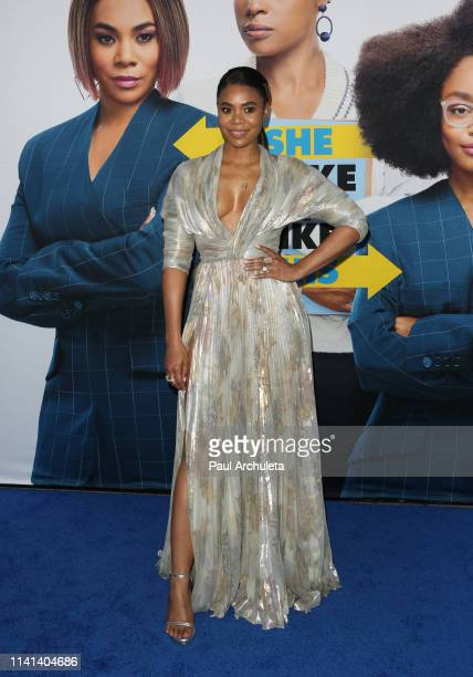 Actress Regina Hall attends the premiere of Universal Pictures Little at The Regency Village Theatre on April 08 2019 in Westwood California