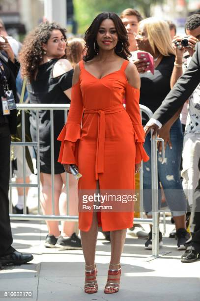 Actress Regina Hall leaves the 'AOL Build' taping at the AOL Studios on July 17 2017 in New York City