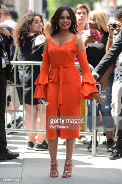 Actress Regina Hall leaves the AOL Build taping at the AOL Studios on July 17 2017 in New York City