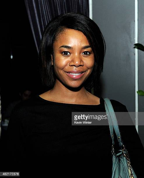 Actress Regina Hall poses at the after party for the premiere screening's of FX Network's You're The Worst and Married at Boulevard3 on July 14 2014...