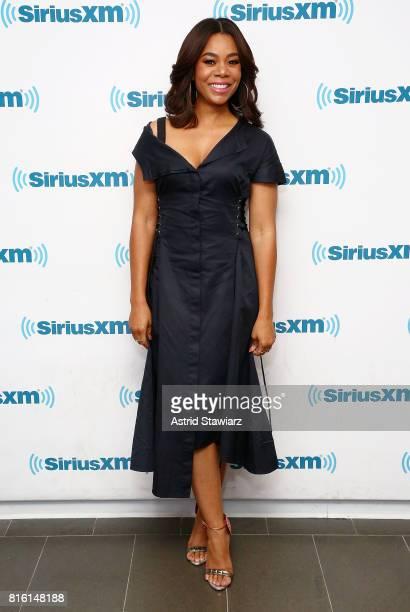 Actress Regina Hall visits the SiriusXM Studios on July 17 2017 in New York City