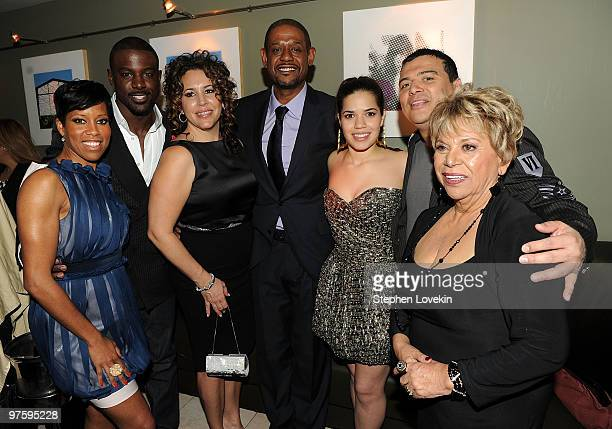 Actress Regina King actor Lance Gross actress Diana Maria Riva actor Forest Whitaker actress America Ferrera actor Carlos Mencia and actress Lupe...