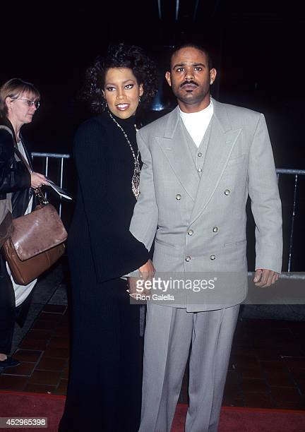 Actress Regina King and boyfriend Ian Alexander attends the Jerry Maguire Premiere Party on December 6 1996 aboard the Celebrity Cruises Pier 88 in...
