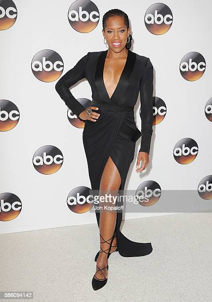 Actress Regina King arrives at Disney ABC Television Group Hosts TCA Summer Press Tour at the Beverly Hilton Hotel on August 4 2016 in Beverly Hills...