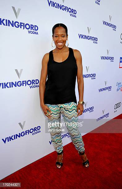 Actress Regina King arrives at the 1st Annual Children Mending Hearts Style Sunday on June 9 2013 in Beverly Hills California
