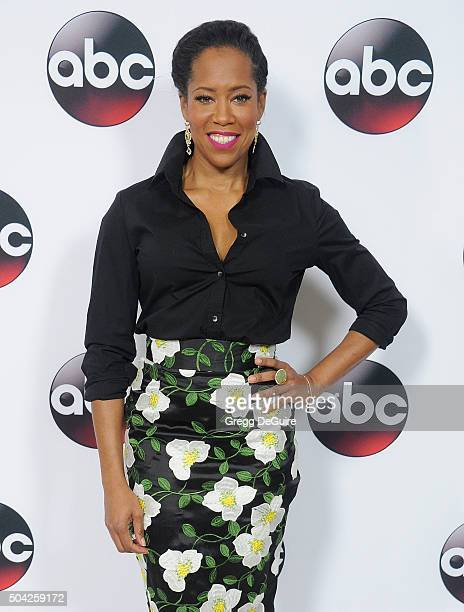 Actress Regina King arrives at the 2016 Winter TCA Tour - Disney/ABC at Langham Hotel on January 9, 2016 in Pasadena, California.