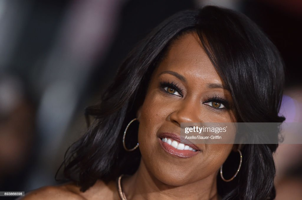 Actress Regina King arrives at the premiere of Netflix's 'Bright' at Regency Village Theatre on December 13, 2017 in Westwood, California.
