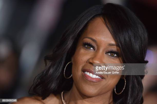 Actress Regina King arrives at the premiere of Netflix's 'Bright' at Regency Village Theatre on December 13 2017 in Westwood California