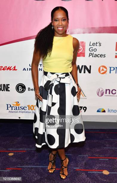 Actress Regina King attends 2018 Black Women's Expo at Georgia International Convention Center on August 11, 2018 in College Park, Georgia.