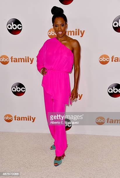 Actress Regina King attends Disney ABC Television Group's 2015 TCA Summer Press Tour at the Beverly Hilton Hotel on August 4 2015 in Beverly Hills...